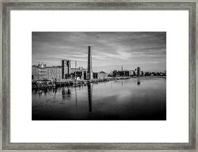 Augusta Canal Framed Print