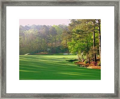 Augusta Hole 12 Framed Print