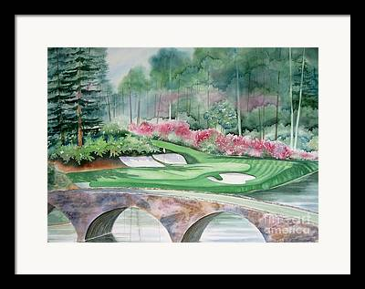 Deb Ronglien Watercolor Framed Prints
