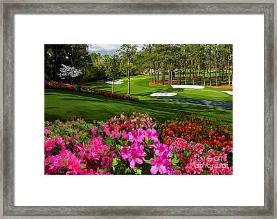 Augusta Azaleas 16th And 6th Framed Print by Tim Gilliland