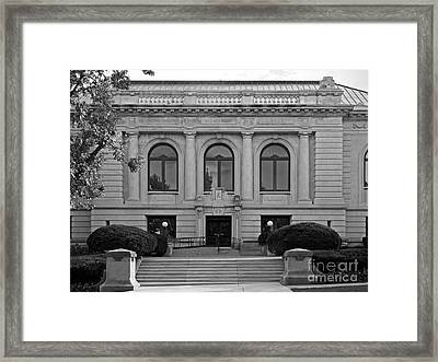 Augustana College Denkmann Memorial Hall Framed Print by University Icons