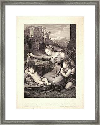 Auguste Gaspard Louis Desnoyers French, 1779 - 1857 Framed Print