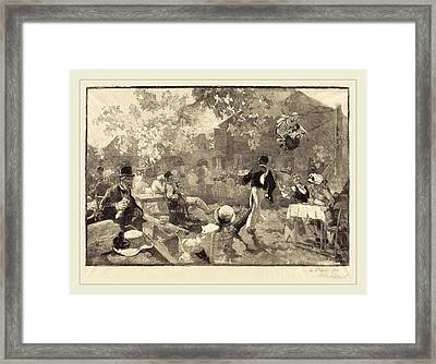 Auguste Lepère After Daniel Vierge French Framed Print by Litz Collection