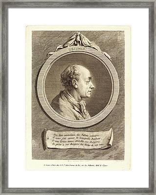 Augustin De Saint-aubin After Baron Dominique Vivant Denon Framed Print by Litz Collection