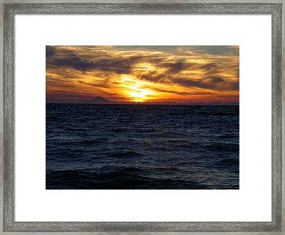 Framed Print featuring the photograph Augustine Sleeps by Jeremy Rhoades