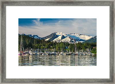 Auke Bay Framed Print by Robert Bales