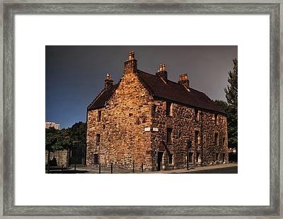 Auldest House Framed Print