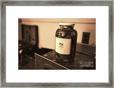 Aunt Bea's Pickles Framed Print by David Arment