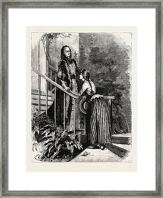 Aunt Charlotte And Mildred Framed Print by Macquoid, Percy (1852-1925), English