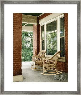 Aunt Jane's Porch Framed Print