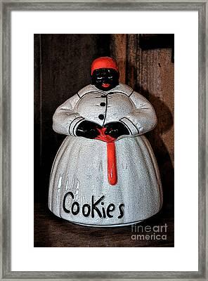 Aunt Jemima Cookie Jar Framed Print by Paul Mashburn