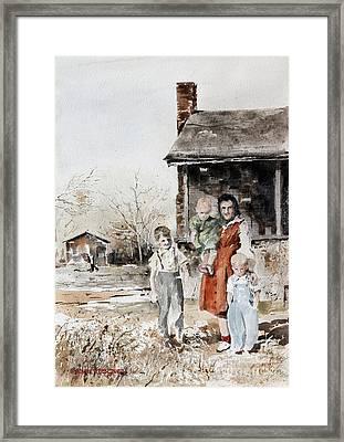 Aunt Peg Framed Print