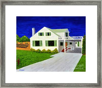 Auntie's House Framed Print