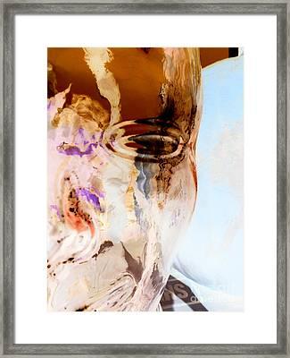 Aura Facade Framed Print by Joy Angeloff