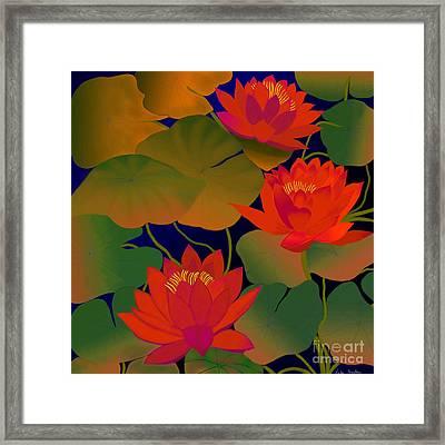 Framed Print featuring the digital art Aura by Latha Gokuldas Panicker