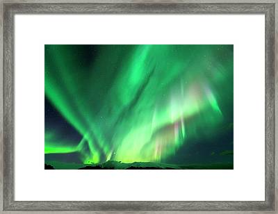 Aurora Borealis Framed Print by Jeremy Walker