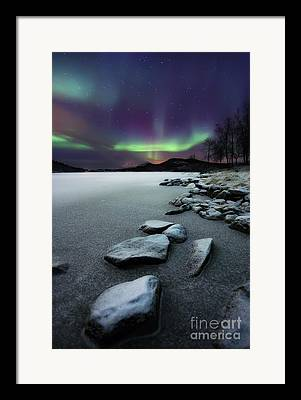 Evening Glow Framed Prints