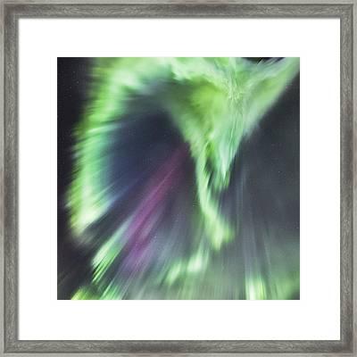 Aurora Corona II Framed Print by Frank Olsen