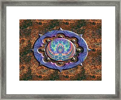 Aurora Graphics 10 A Framed Print by Larry Capra