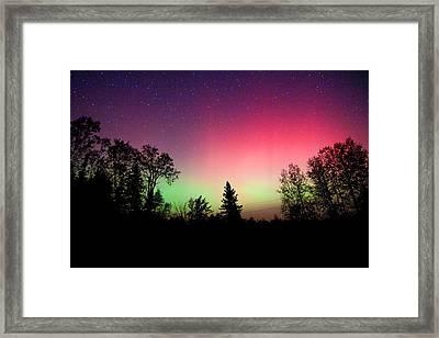 Aurora In Autumn Framed Print