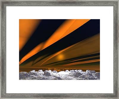 Aurora Framed Print by John Pangia