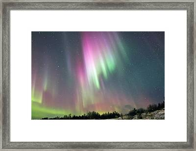 Aurora Pop Framed Print