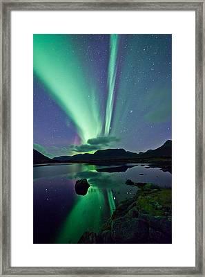 Aurora Raising II Framed Print