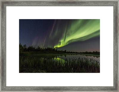 Aurora Waves Framed Print