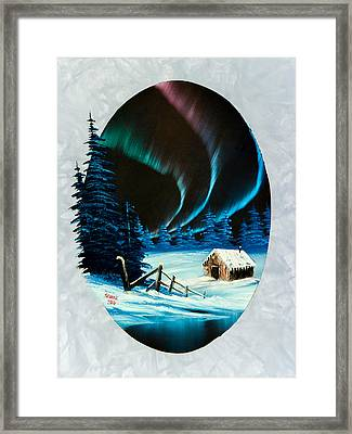Aurora's Beauty Framed Print by C Steele