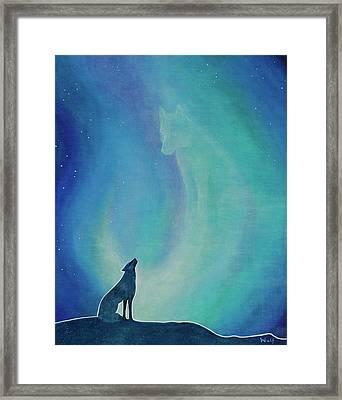 Aurorasong 1 Framed Print