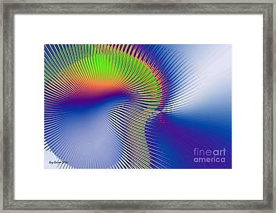 Aurore Boreal Framed Print