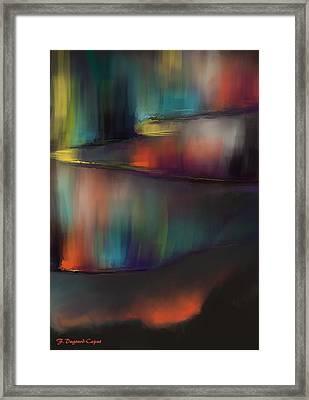 Aurore Framed Print by Francoise Dugourd-Caput