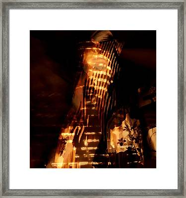 Framed Print featuring the photograph Aurous by Jessica Shelton