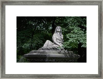 Aurther Haserot Monument Framed Print by Tom Mc Nemar