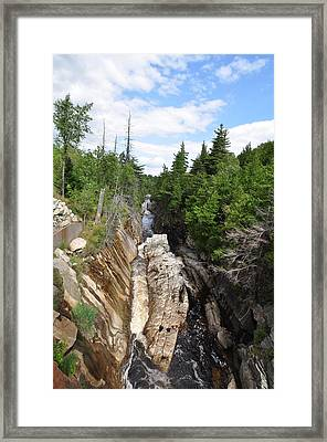 Ausable River  Framed Print