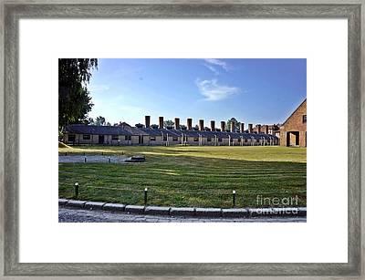 Auschwitz-3 Framed Print