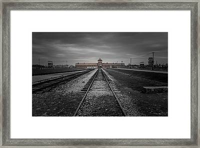 Auschwitz-birkenau Framed Print by Chris Fletcher