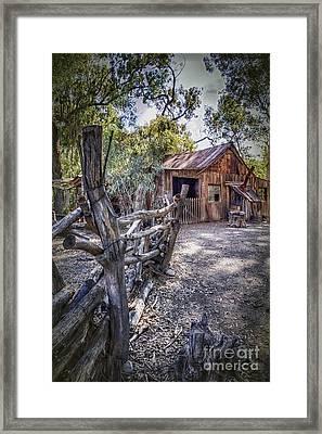 Aussie Farm Framed Print