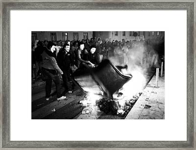 Austerity Framed Print by Pace Freeman