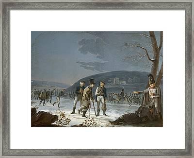 Austerlitz Prisoners Framed Print