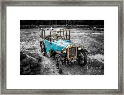Austin 7 Framed Print by Adrian Evans