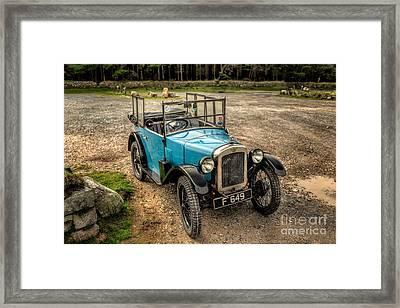 Austin 7 V2 Framed Print by Adrian Evans