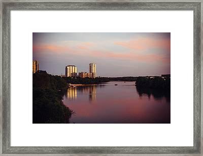 Austin Dusk Framed Print