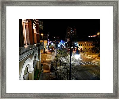 Austin Hdr 002 Framed Print by Lance Vaughn