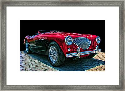 Austin Healey 100m Framed Print