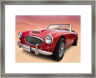 Austin Healey Framed Print