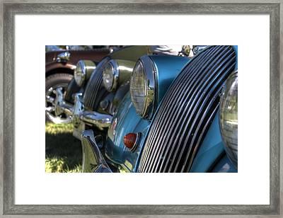 Austin Healey Framed Print by Jane Linders