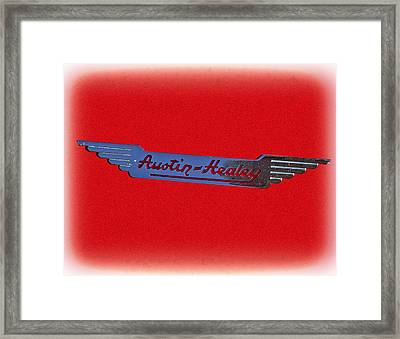 Austin-healey Framed Print