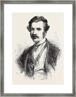 Austin Henry Layard Framed Print