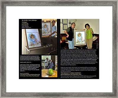 Austin Portrait Framed Print